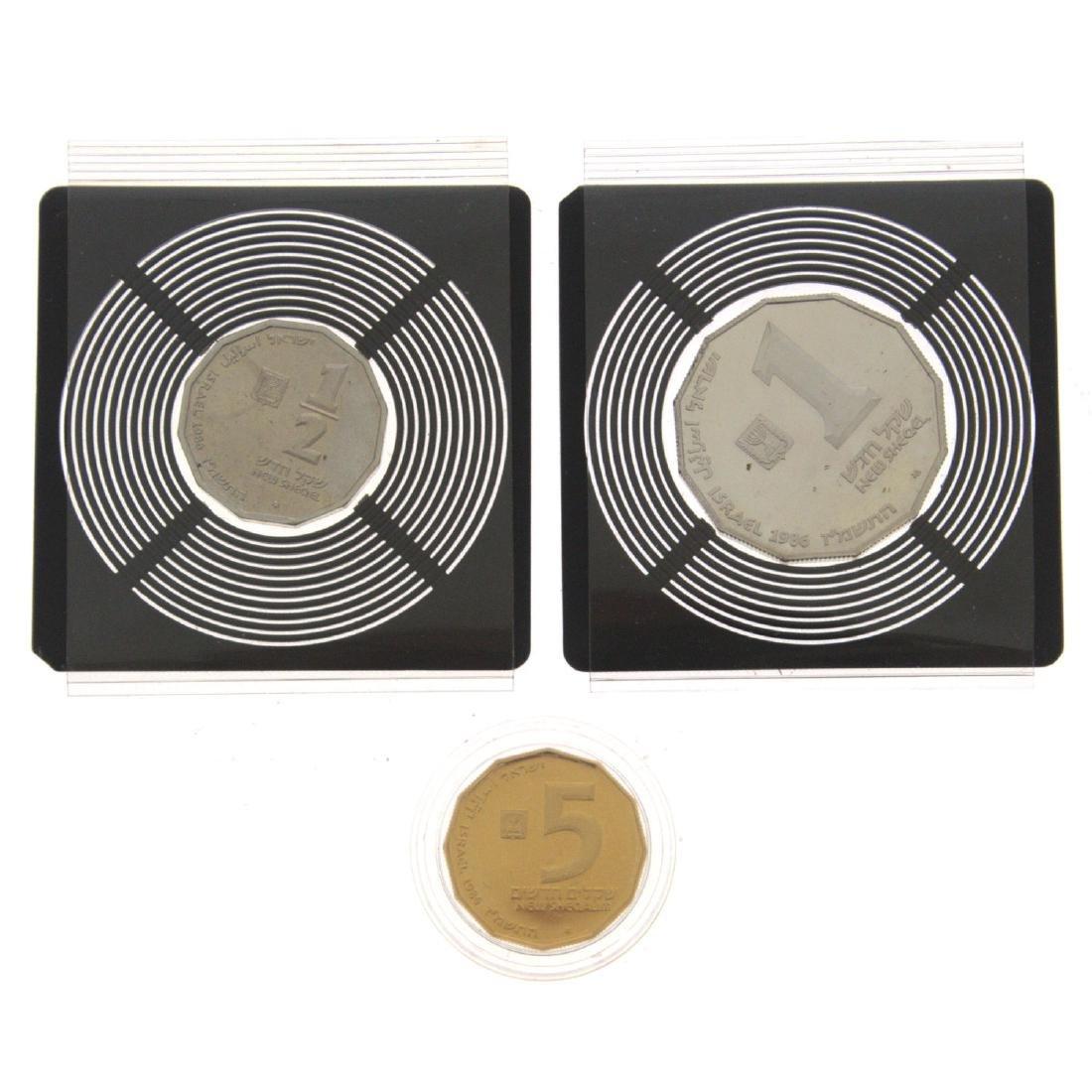 Akko Gold and Silver Coin Set.