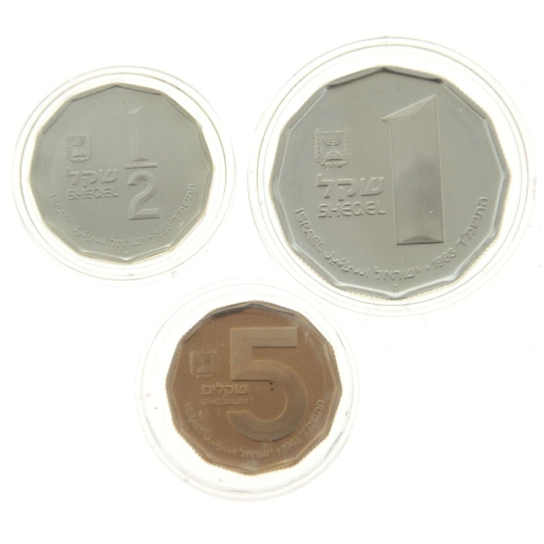 Herodion Gold and Silver Coin Set.