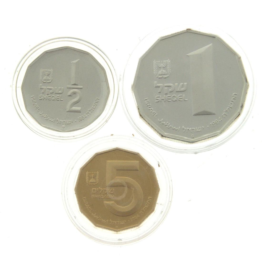 Valley of Kidron Gold and Silver Coin Set.