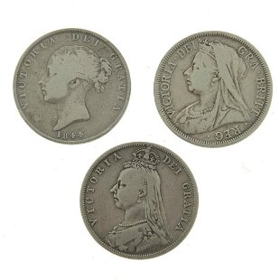 Vintage Victorian Coins, Currency & Stamps for Sale