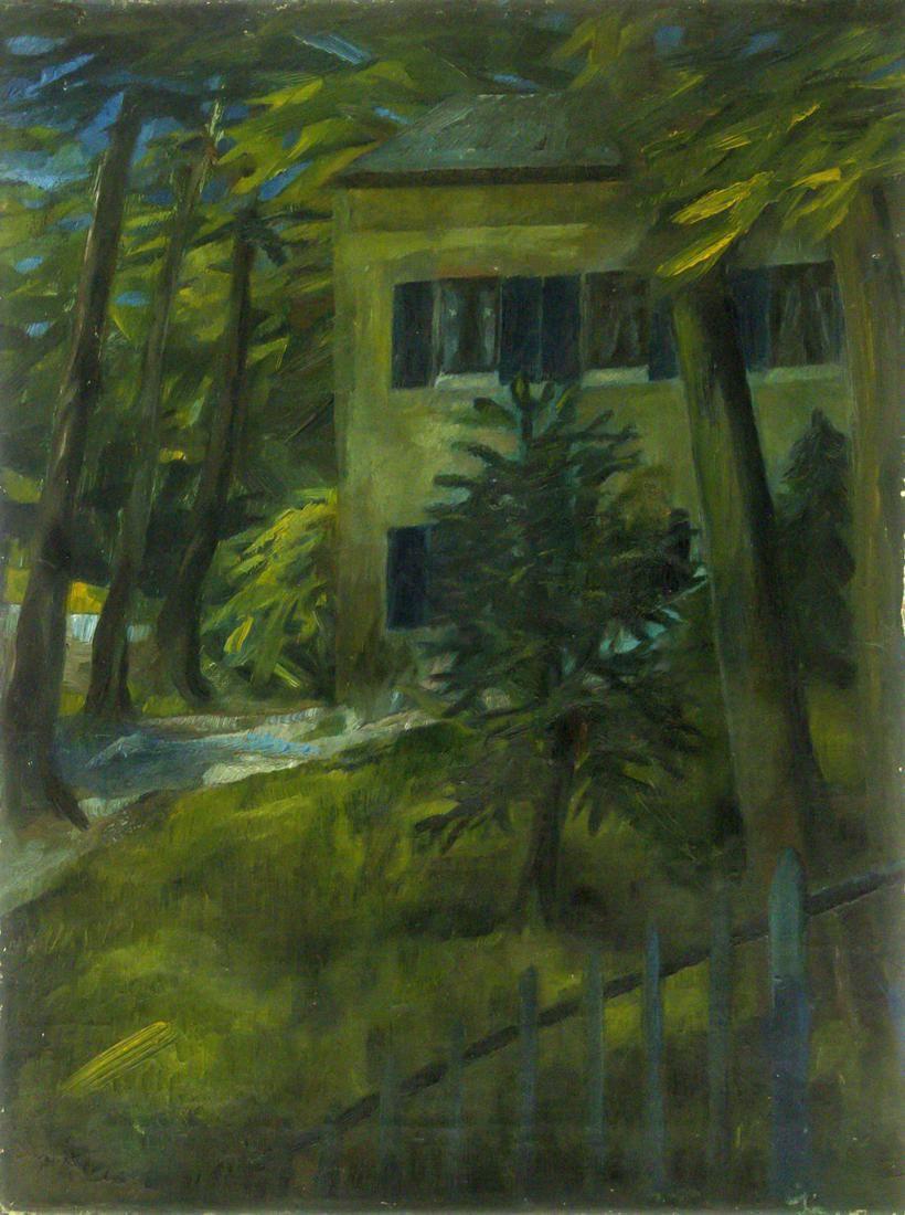 Paul Kleinschmidt (German, 1883-1949) - Schlosspark,