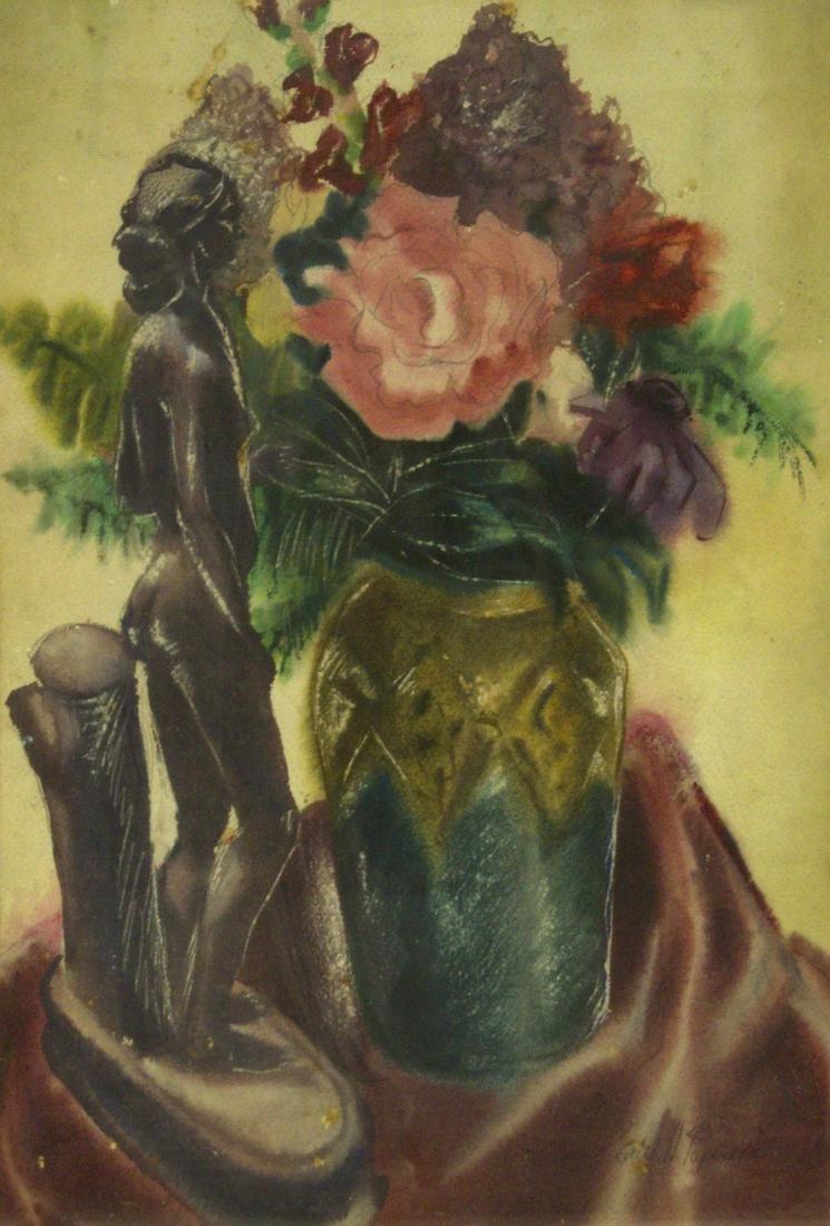 Edith Helen Papert - Still Life, Watercolor on Paper,