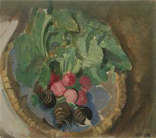 Max Oppenheimer (Austrian, 1885-1954) - Still Life, Oil