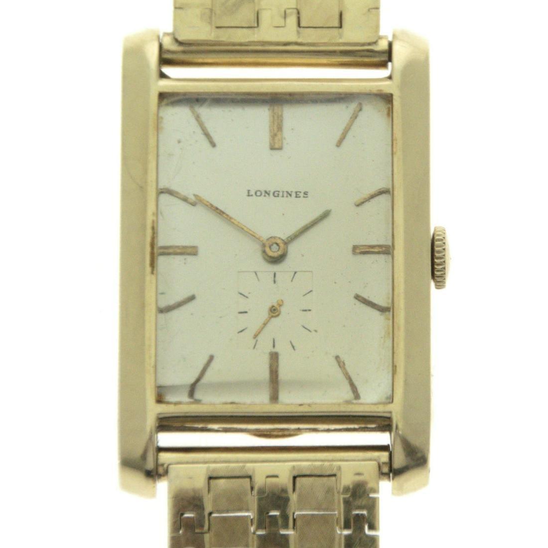 Longines Wittnauer 14k Yellow Gold Gentleman Wrist