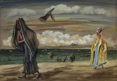 Adolf Arthur Dehn (American, 1895-1968) - Beach at Key