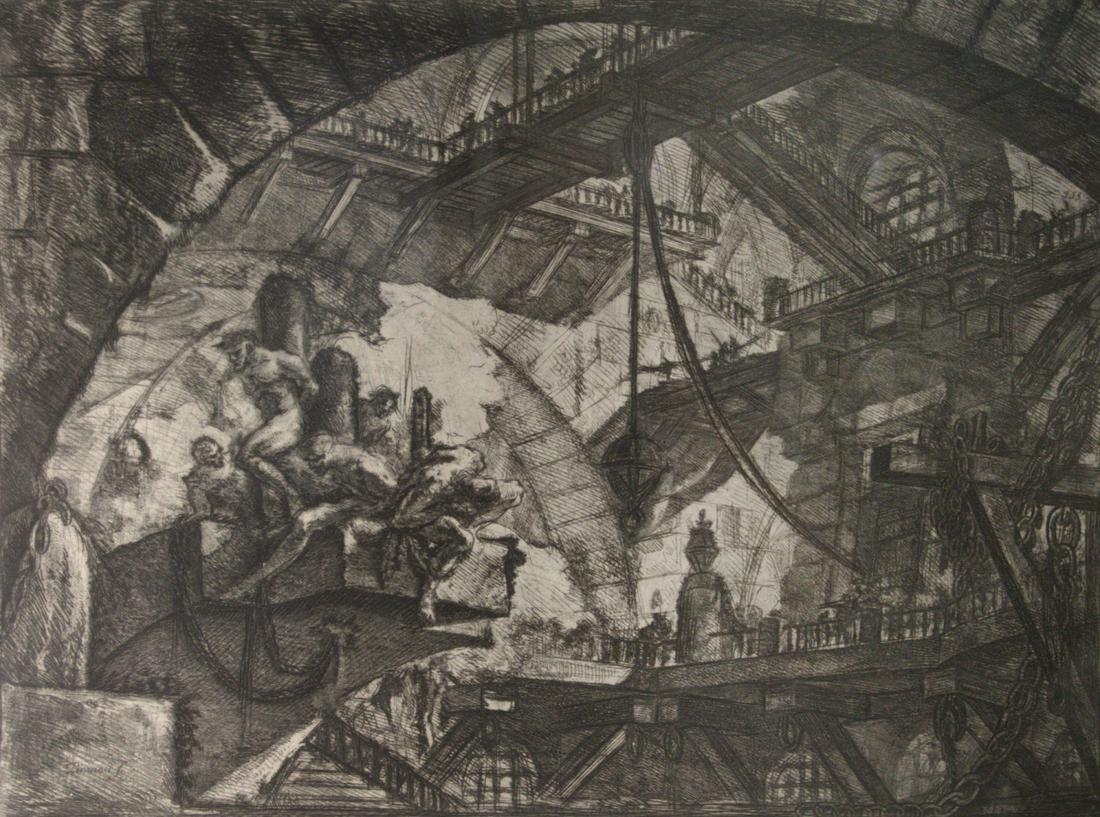 Giovanni Battista Piranesi (Italian, 1720-1778) Etching