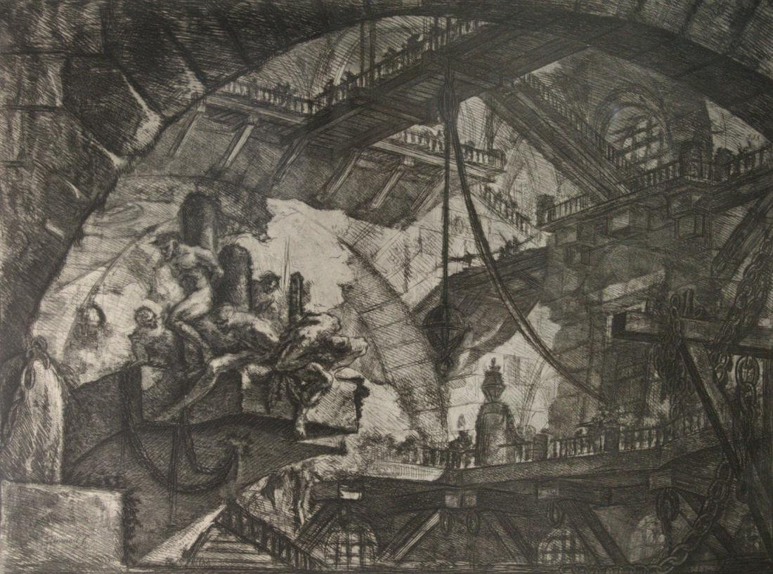 Giovanni Battista Piranesi (Italian, 1720-1778) Etching