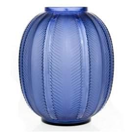 Rene Lalique Biskra Glass Vase