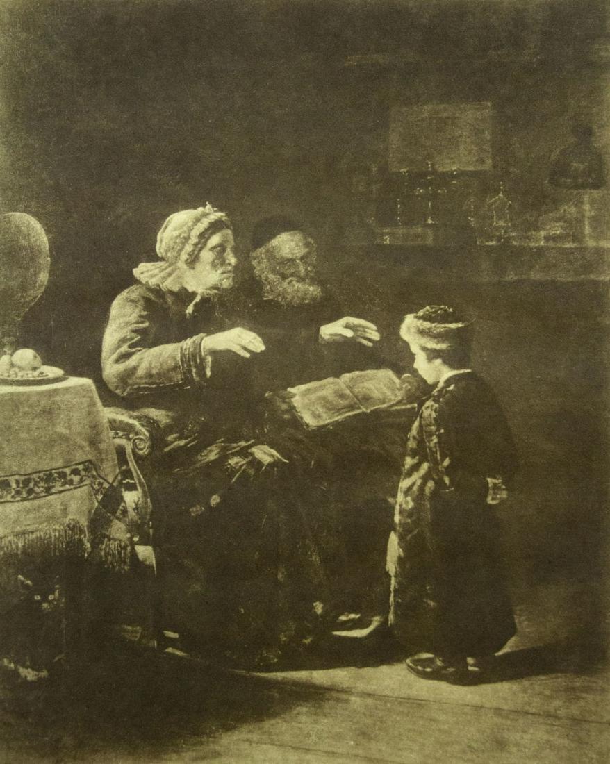Lazar Krestin (Lithuanian, 1868-1938) - Photogravure.