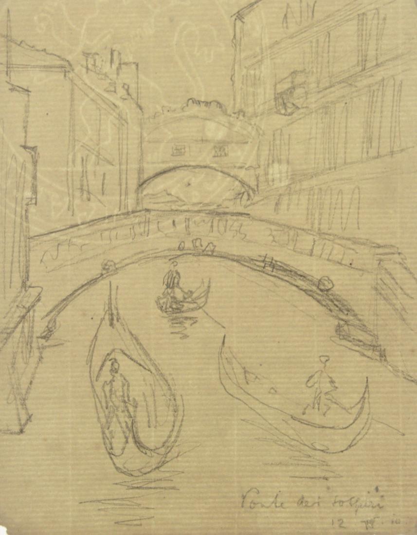 Hermann Struck (1876-1944) - Ponte dei Sospiri, Venice,