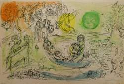 Marc Chagall  Derriere Le Miroir No 99100 Six