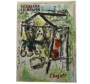 Marc Chagall  Derriere Le Miroir No 182 Two
