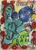 Marc Chagall  Derriere Le Miroir No 198 Three