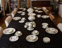 Rosenthal Porcelain Service Set, Germany, 72 pieces.