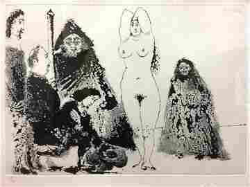 Pablo Picasso (Spanish, 1881-1973) - Jeune Homme