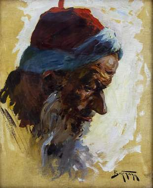 Abraham Adolf Behrmann (Polish, 1876-1942) - Yemenite