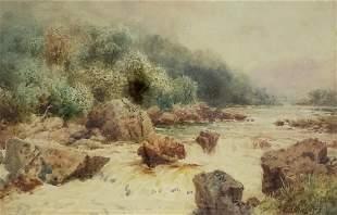 Henry Bowser Wimbush (English 1861-1943) - River Rapids