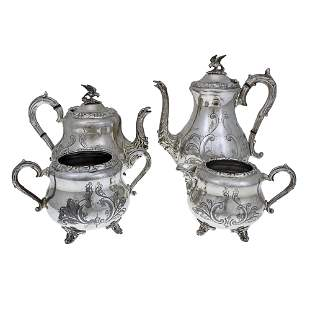 Cooper Brothers 4-Piece Tea and Coffee Set, Sheffield,