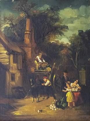 Unidentified Artist - Oil on Canvas.