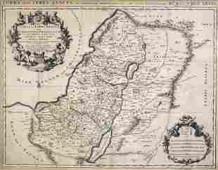 Nicolas Sanson (French, 1600-1667) - Holy Land Terra