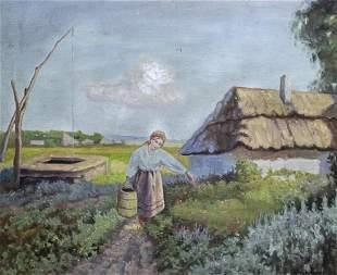 Wiktor Korecki (Polish, 1890-1980) - Woman in the