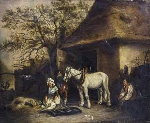Francis Wheatley (English, 1747-1801) - Rural Family
