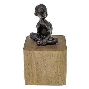 Unidentified Artist - Bronze Sculpture.