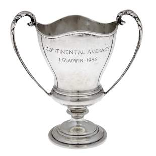 Sterling Silver Trophy, Charles Boyton & Son, London,