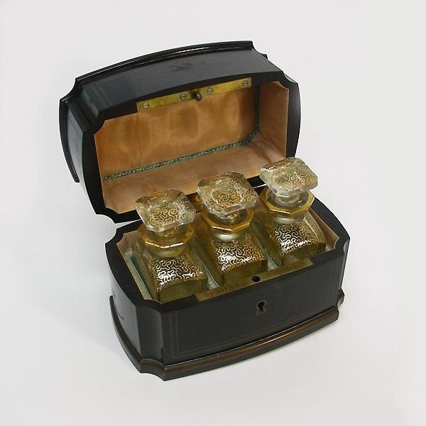 Napoleon III Scent Bottle Casket, A. Tahan, Ca 1860.