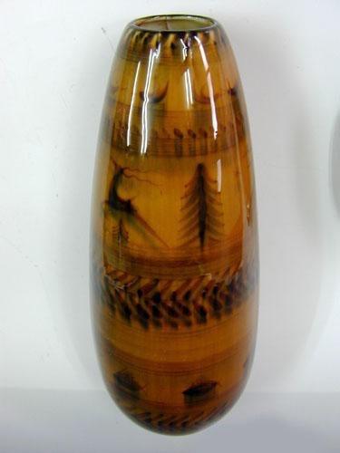 Lapid Ceramic Vase, Israel, 1950′s.