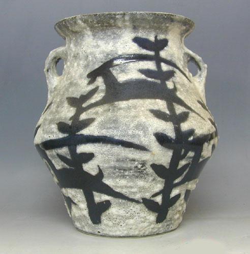 Lapid Studio Ceramic Vase, Israel, 1950′s.
