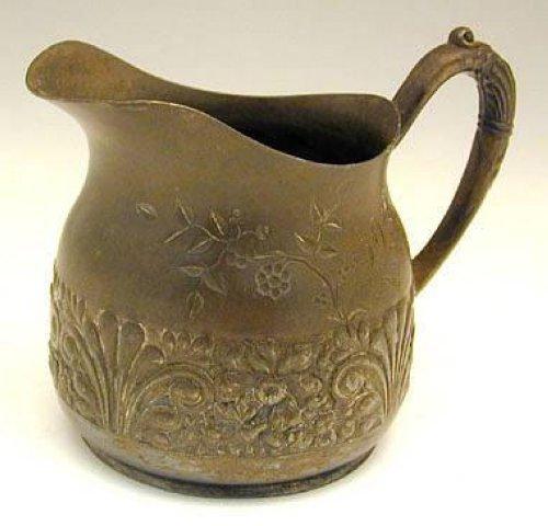 Antique Pairpoint Quadruple Plate 3pcs Tea Set - 4