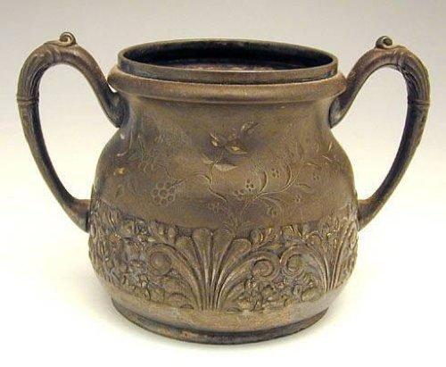 Antique Pairpoint Quadruple Plate 3pcs Tea Set - 5