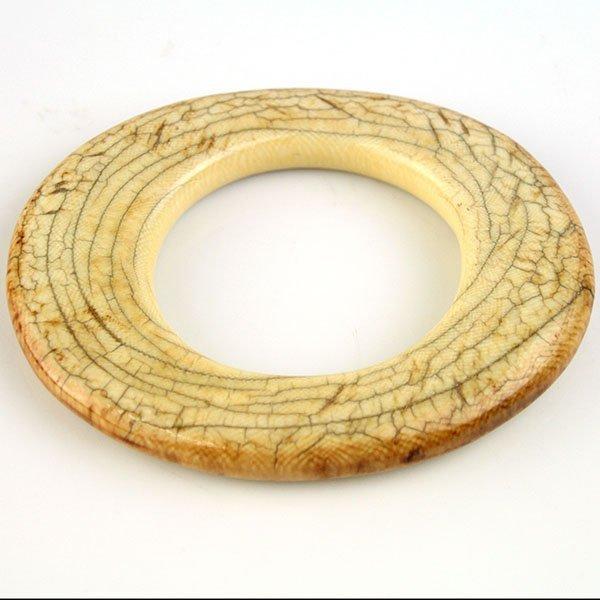 Antique African Ivory Bangle Bracelet