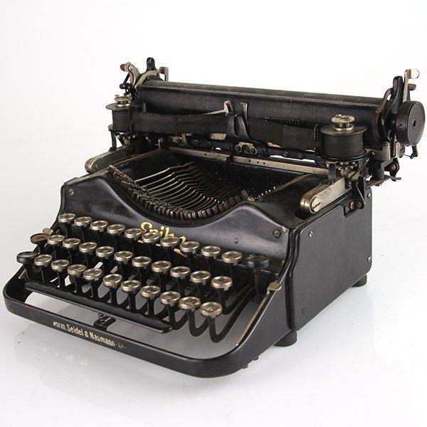 Seidel & Naumann Erika #3 Typewriter Dresden 1910-1923