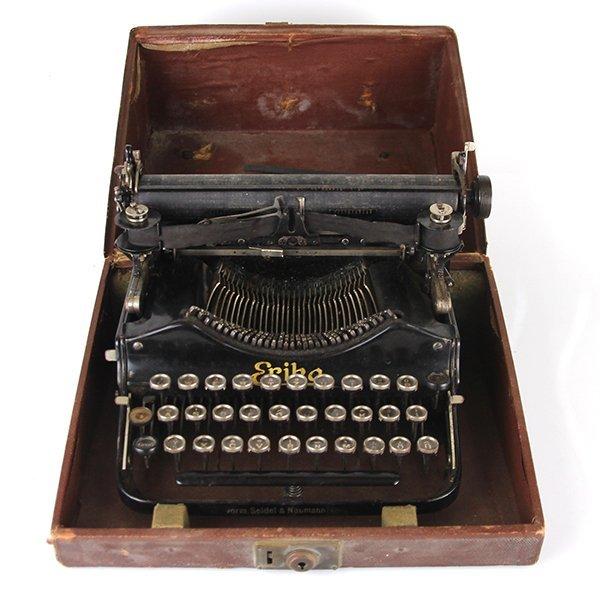 Seidel & Naumann Erika #3 Typewriter Dresden 1910-1923 - 2