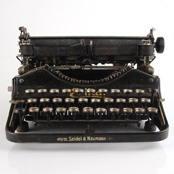 Seidel & Naumann Erika #3 Typewriter Dresden 1910-1923 - 3