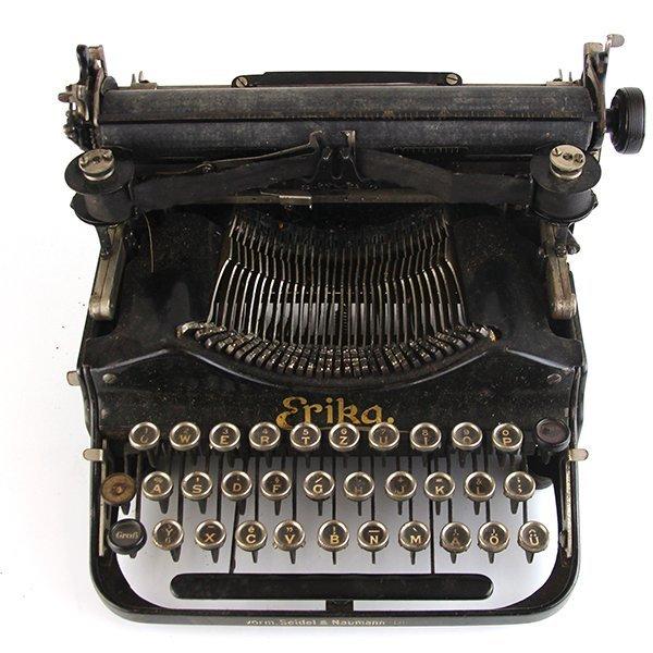 Seidel & Naumann Erika #3 Typewriter Dresden 1910-1923 - 6