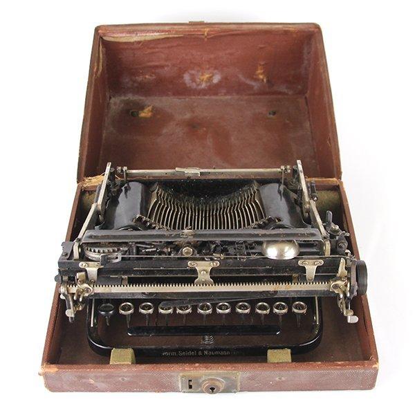 Seidel & Naumann Erika #3 Typewriter Dresden 1910-1923 - 7