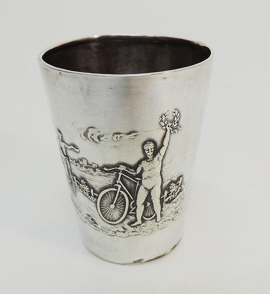 Rare Silver Olympic Champion Felix Adolf Schmal Cup