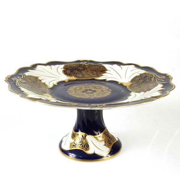 German Weimar Porcelain Centerpiece Tazza.