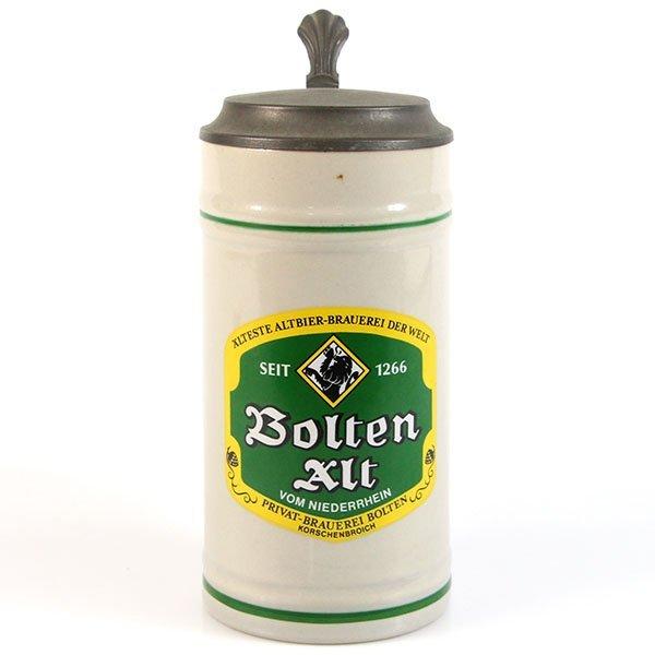Ceramic Bolten Alt Beer Stein Tankard Germany, 1960s.