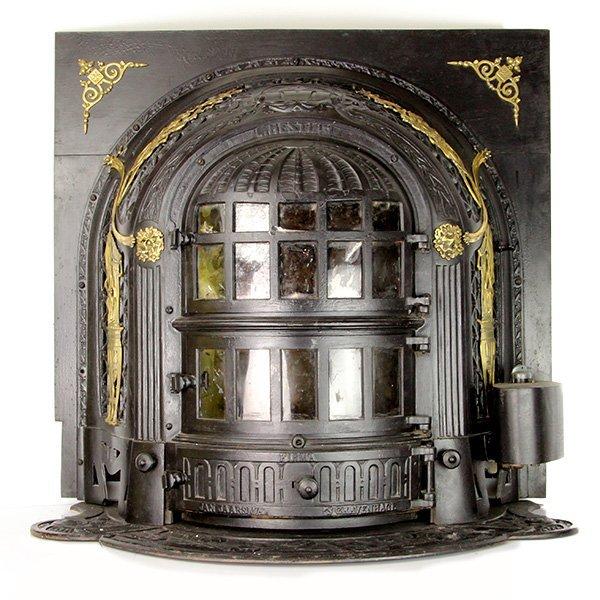 Jan Jaarsma Cast Iron Coal Stove Fireplace Hague Ca1890