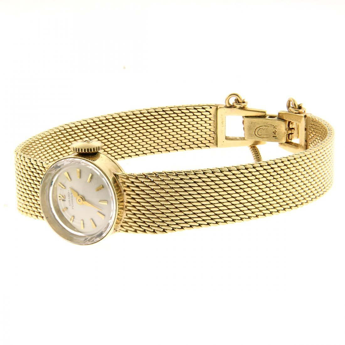 Girard Perregaux 14k Gold Ladies Wrist Watch.