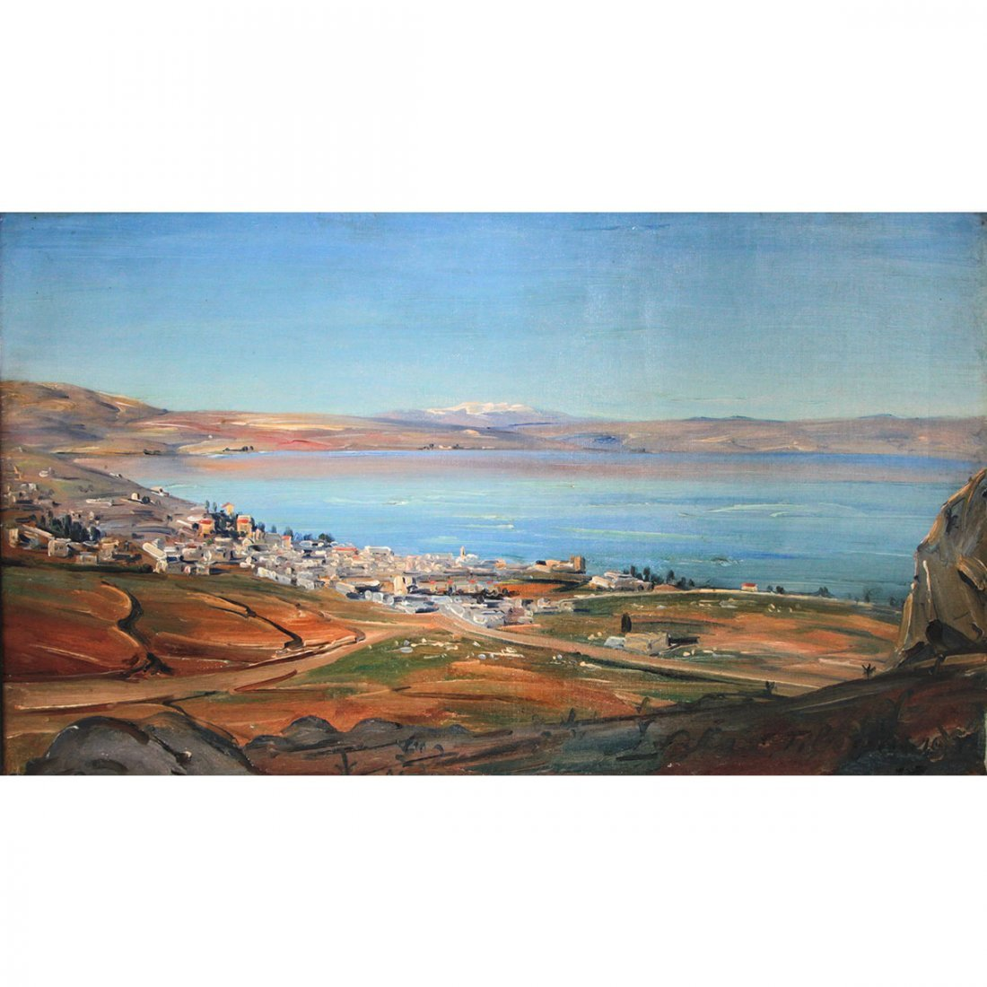 Ludwig Blum - Tiberius, Oil on Canvas.