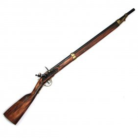 Flintlock Rifle Gun Replica.
