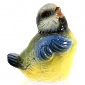 Goebel Porcelain Sparrow Bird Figure.
