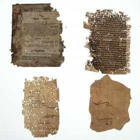 Lot Of Manuscripts And Signatures.