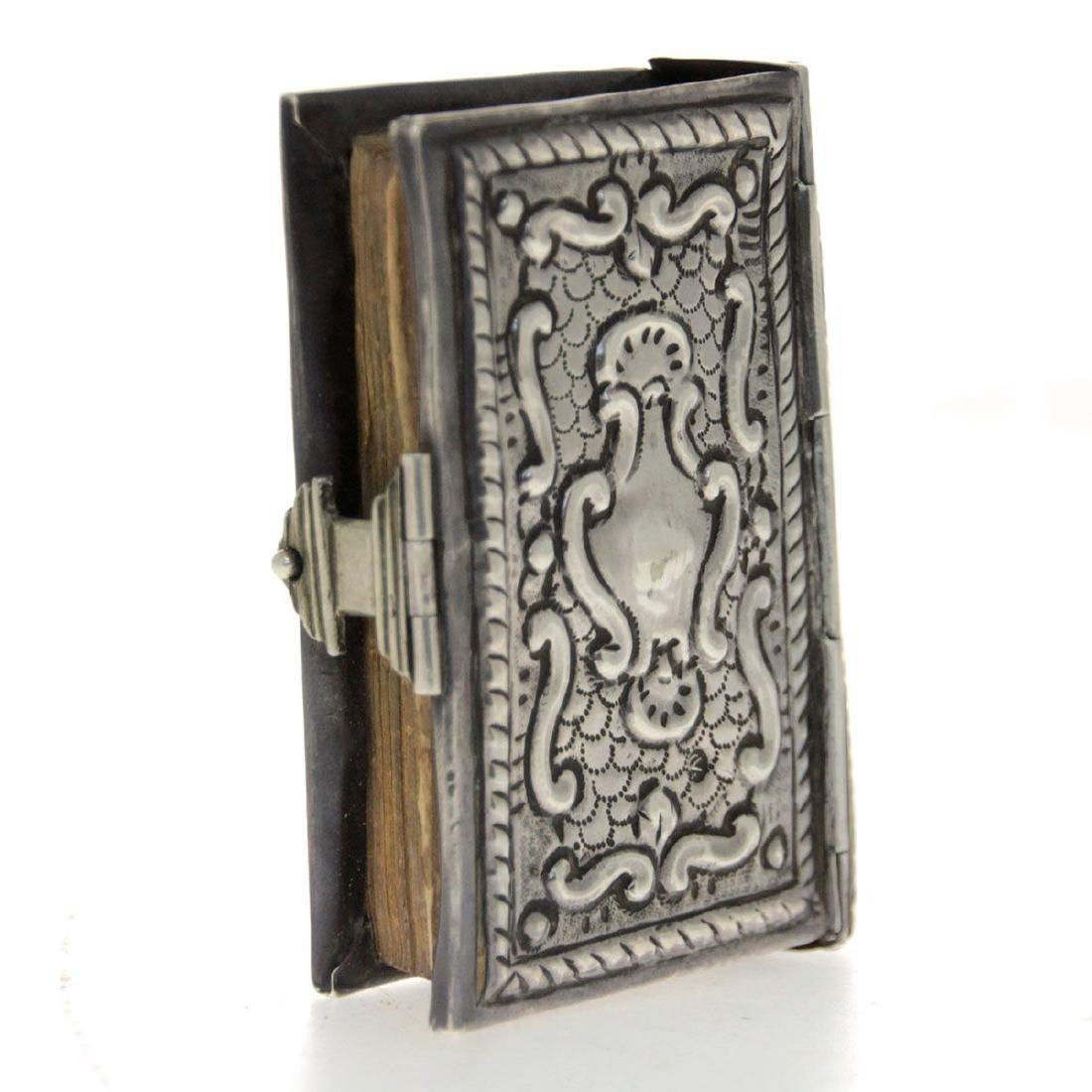 Rare Miniature Hebrew Prayer Book, Venice, 1731