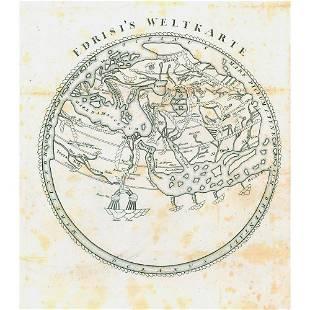 1720 CA ANONIMO INCISIONE Mappa del XVIII secolo